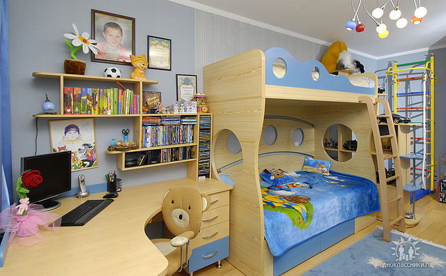 Дизайн детских комнат своими руками фото