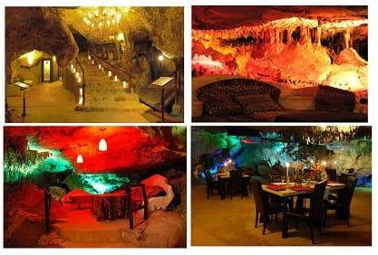 бар в пещере
