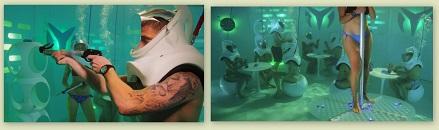 необычный бар под водой