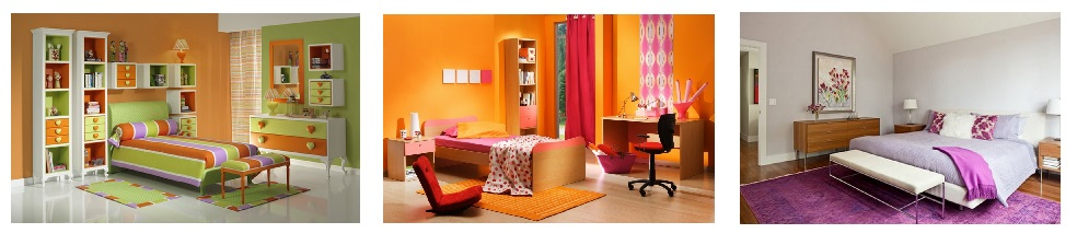 цветовая гамма в доме