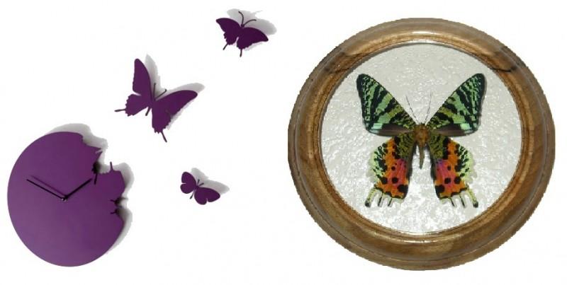 бабочка в интерьере