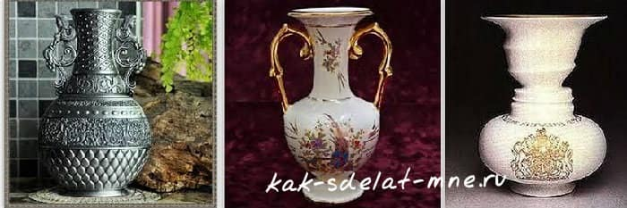 ваза в классическом интерьере