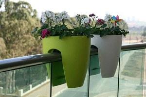 цветочные горшки для балкона