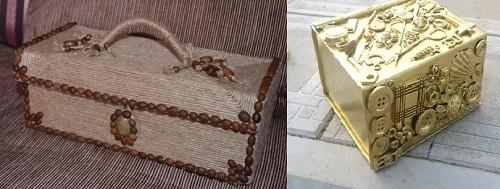 Как украсить своими руками коробку для подарков 3