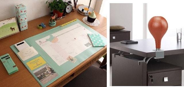 аксессуары для рабочего стола в офисе