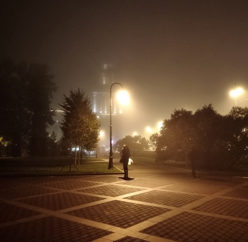 туман, случайная фотография