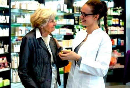 в аптеке - на здоровье