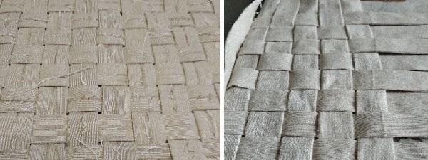 текстильная корзина плетение